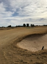 Looking at the 4th green from the right side