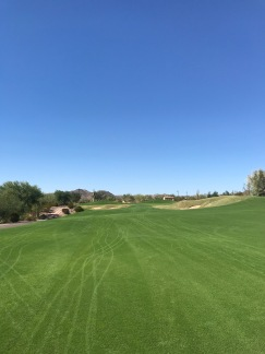 The approach to the par 4, 2nd