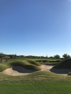 The approach to the par 4, 12th